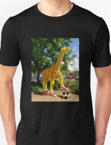 Athletic Giraffe Unisex T-Shirt