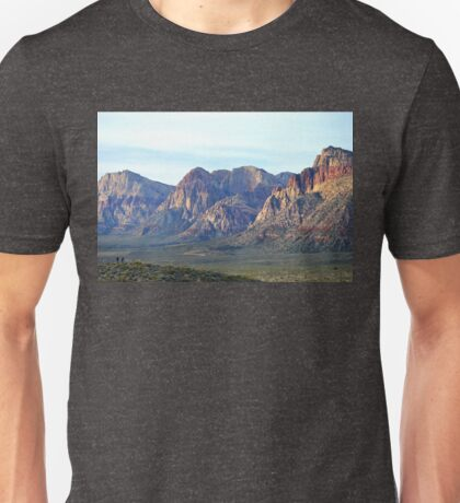 """Red Rock Canyon - Scale"" Unisex T-Shirt"