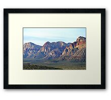 """Red Rock Canyon - Scale"" Framed Print"