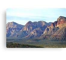 """Red Rock Canyon - Scale"" Canvas Print"