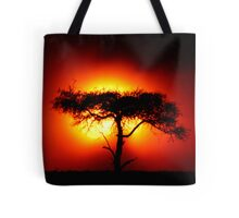 Sun Tree Tote Bag