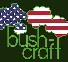 Bushcraft USA flag  by piedaydesigns