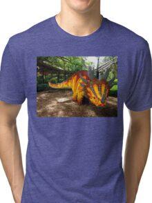 Creative Dinosaur Tri-blend T-Shirt