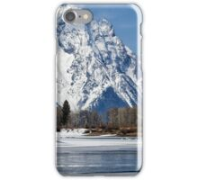 Mt Moran from Oxbow Bend iPhone Case/Skin