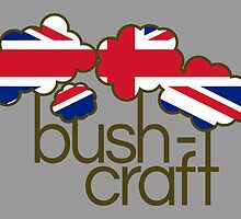 Bushcraft United Kingdom flag by piedaydesigns