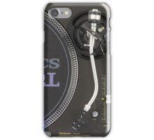Technics SL1200MKII iPhone Case/Skin