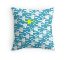 Migration Rebel Bird Throw Pillow