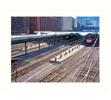 Railroads and the City Art Print