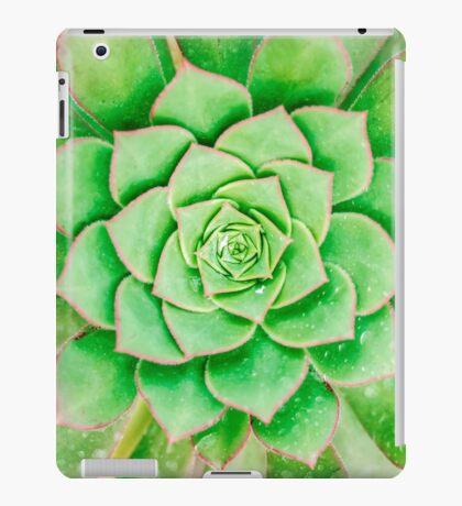 Green Flower iPad Case/Skin