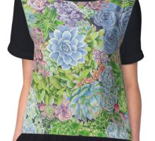 succulents! Chiffon Top