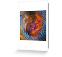 Energy fields Greeting Card