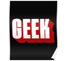 Geek ! Poster