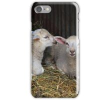 Quite clearly an amusing secret iPhone Case/Skin