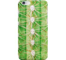 Green Spiky Cactus iPhone Case/Skin