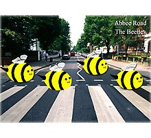 The Beetles, Abbee Road  Photographic Print