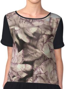 Recycle-Couch Print Chiffon Top