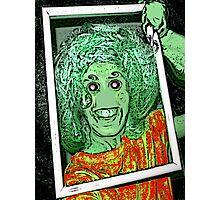Alien Selfie Photographic Print