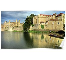 Punting on the moat  Poster