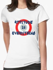 Attitude is everything Womens Fitted T-Shirt