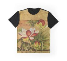 """""""Growing in Happiness"""" from the series """"In the Lotus Land"""" Graphic T-Shirt"""