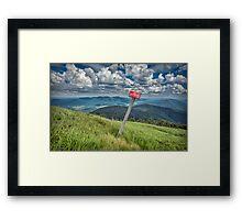 Border Framed Print
