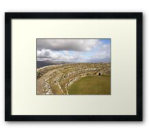Ancient Stones Donegal, Ireland Framed Print