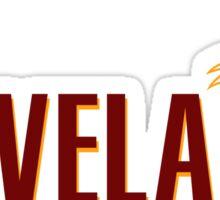 Cleveland Cavaliers Flag Sticker