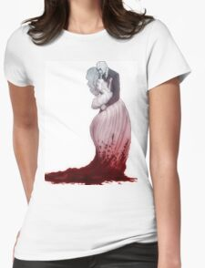 A love suicide Womens Fitted T-Shirt