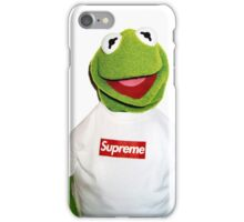 Supreme Kermit the Frog iPhone Case/Skin