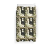Druid Doorway - Grainan Of Aileach Fort -Donegal - Ireland Duvet Cover
