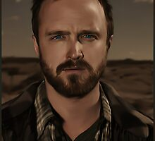 Jessy Pinkman Digital Painting  by Designsbytopher