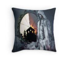 Psycho Break Throw Pillow