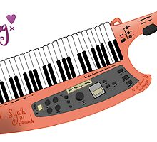 How cool can a Keytar get? by beatboxgal