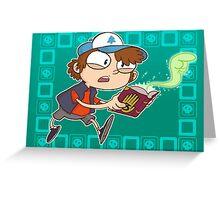 Dipper Pines Greeting Card
