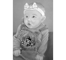 Shauna's precious girl Photographic Print