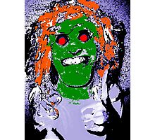 Thumbs Up! Mythical Zombie Ogre Horror Hybrid  Photographic Print