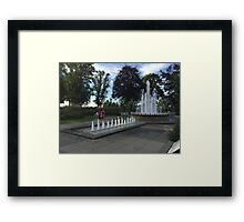 The Queen's Diamond Jubilee Fountain Framed Print