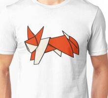 Cute Paper Fox Unisex T-Shirt