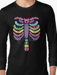 Bear Bones Kawaii Drip Long Sleeve T-Shirt