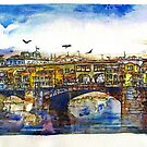 Ponte Vecchio Bridge by Randy Sprout