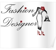 Fashion Designer Poster
