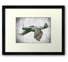 It's a bird. It's a plane... Framed Print
