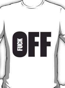 Cool Fuck Off Logo T-Shirt