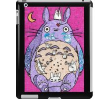 Totoro w/ background  iPad Case/Skin