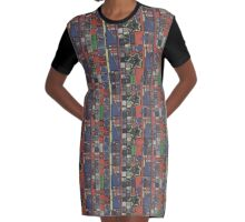 THE WORLDS UGLIEST PLACEMAT DESIGN Graphic T-Shirt Dress