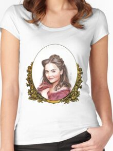Doctor Who: Victorian Clara Oswald Women's Fitted Scoop T-Shirt