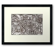 Dark dreaming Framed Print