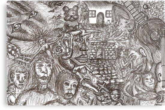 Dark dreaming by David Fraser