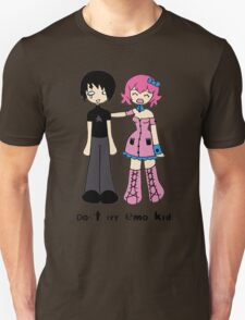 Don't cry emo kid by Lolita Tequila Unisex T-Shirt