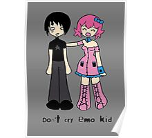 Don't cry emo kid by Lolita Tequila Poster
